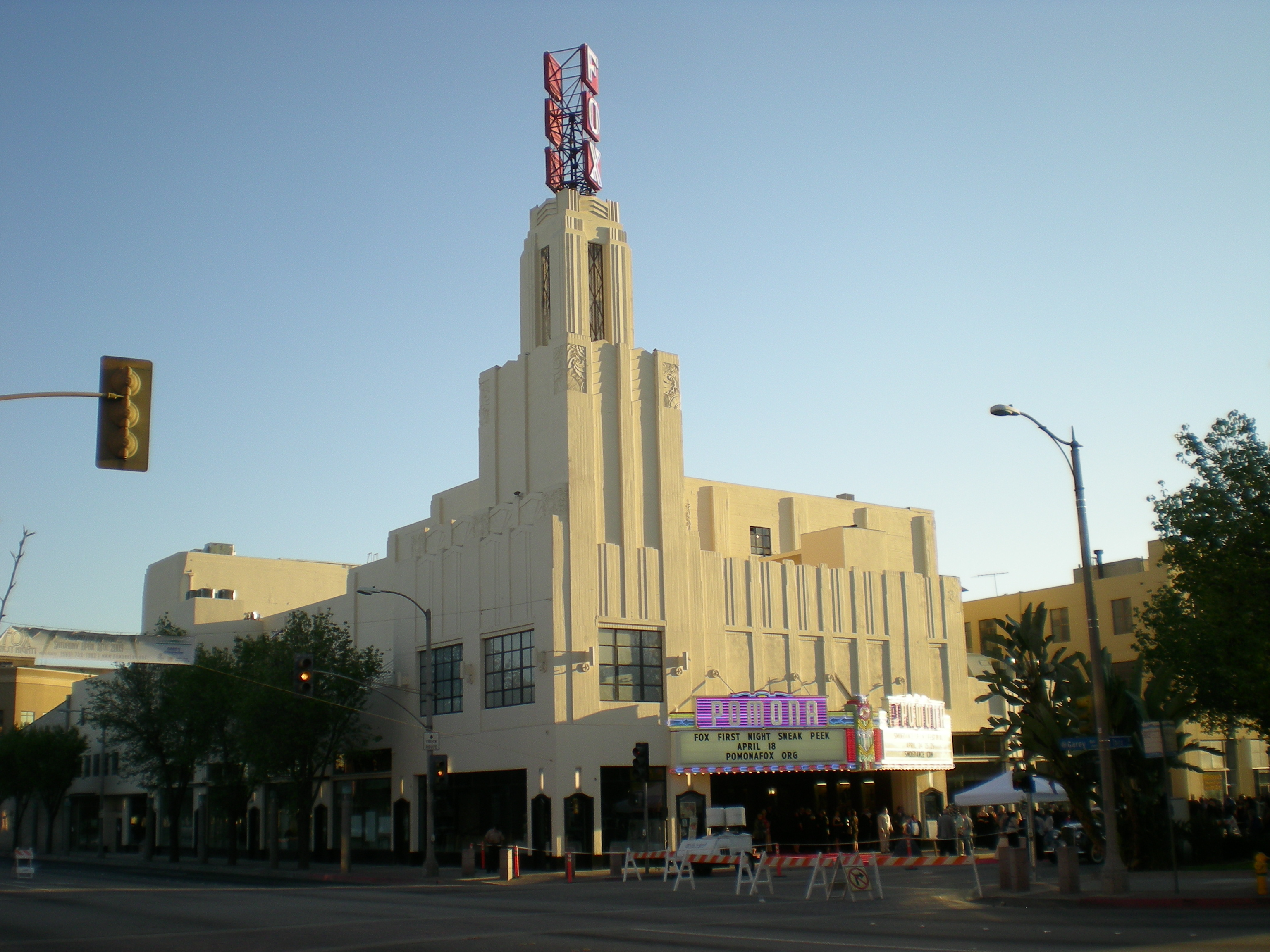Fox Theater Pomona Rehabilitation